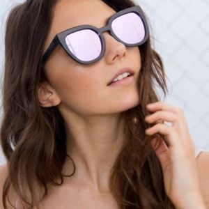 Quay Noosa sunglasses with purple lens